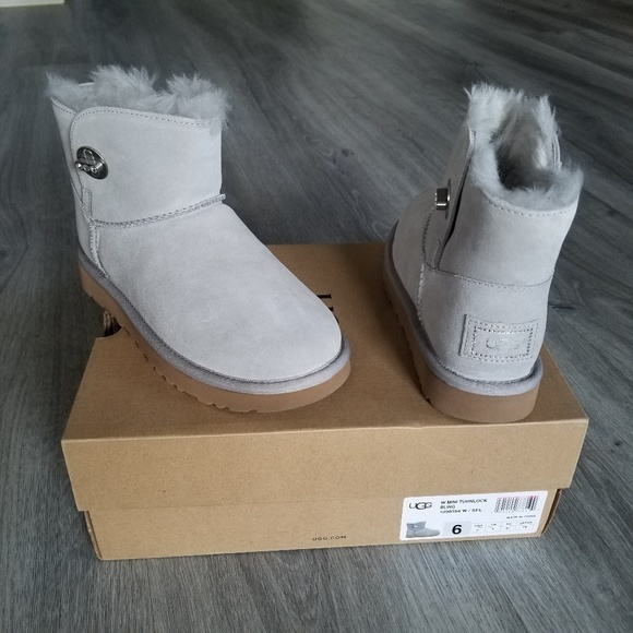 9737aef3612 UGG Shoes | Mini Turnlock Bling Waterresistant Boot | Poshmark